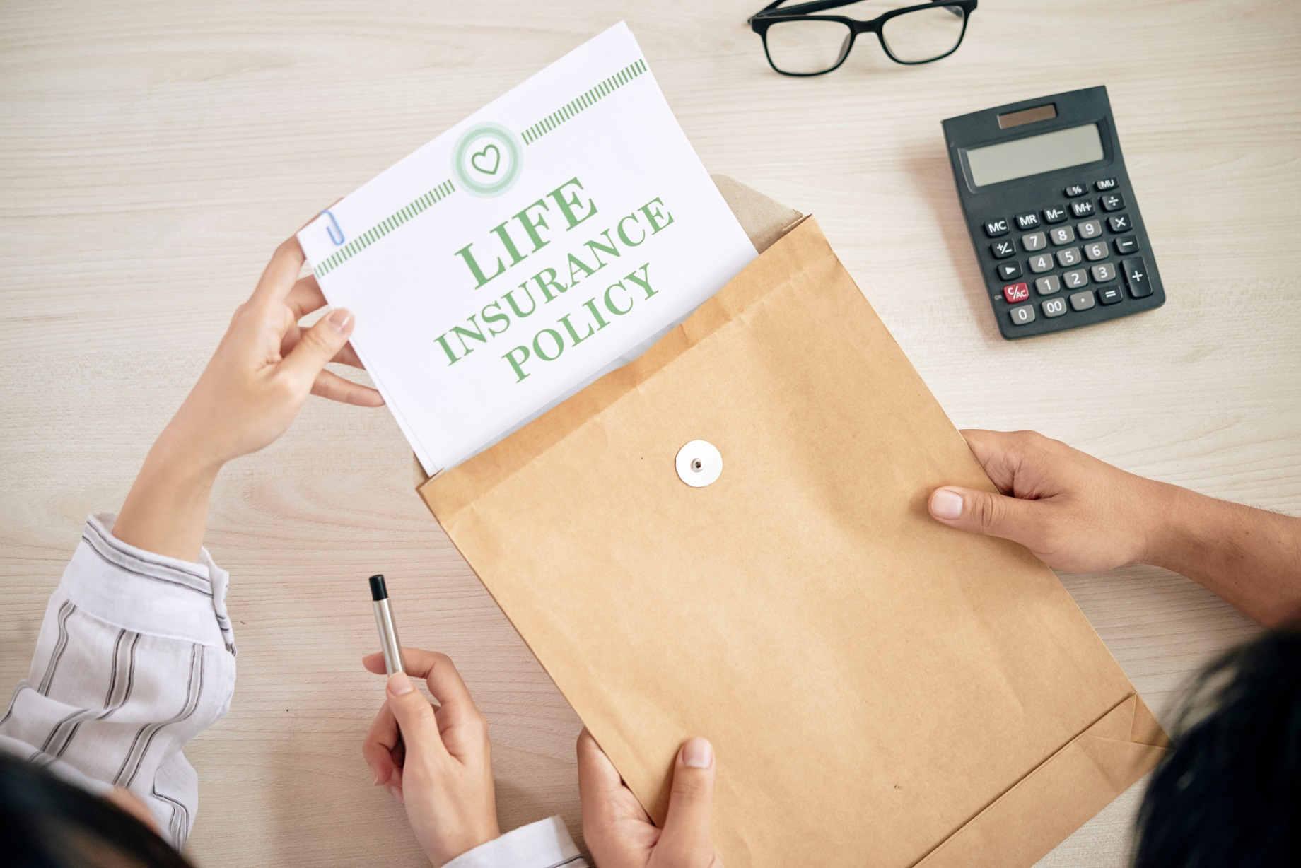 people with contract of life insurance