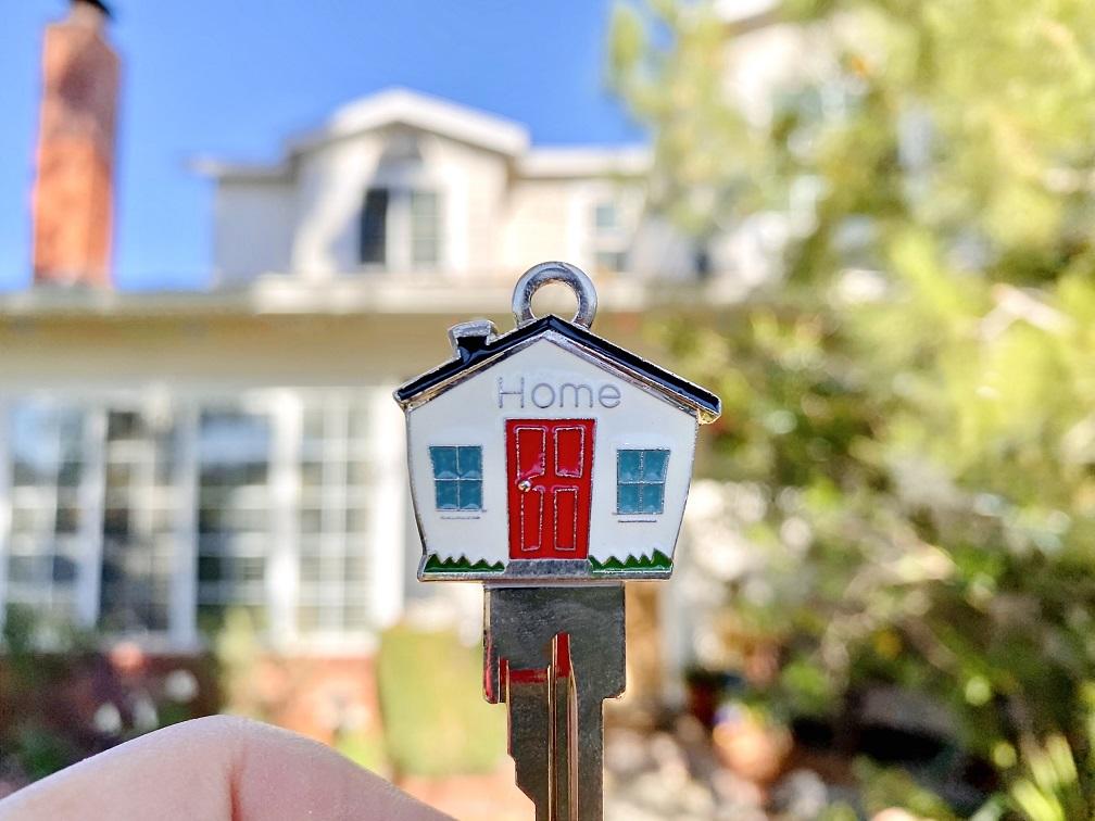 keys to beautiful new house